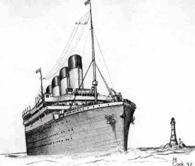 Pin dessin titanic on pinterest - Dessin du titanic ...