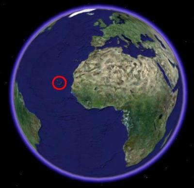 Ou se situe le cap vert dans le monde francais for Ou se promener dans les yvelines