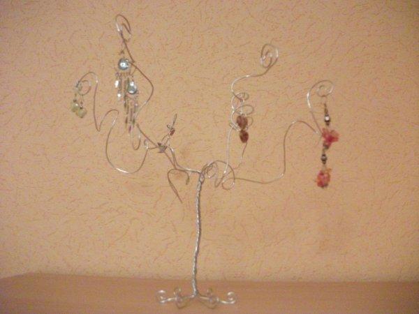 Arbre bijou - Arbre a bijoux en bois ...